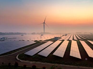 Großanlage Photovoltaik