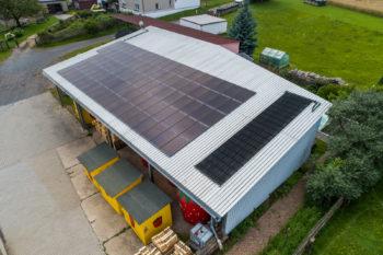 Photovoltaik referenzanlage Hirschfeld