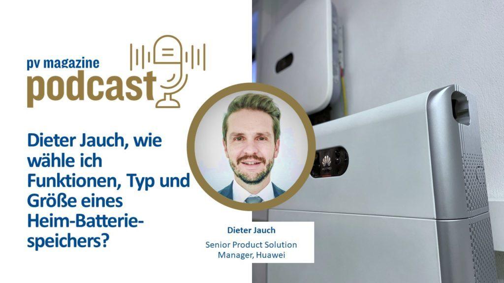 Podcast Speichersystem